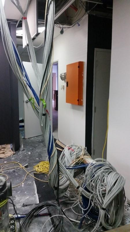 Data Cabling at Salt 106.5